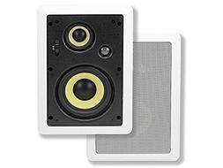 Monoprice Caliber In Wall Speakers 5.25 Inch Fiber 3-Way  -