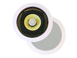 Monoprice Caliber In Ceiling Speakers 8 Inch Fiber 2-Way  -
