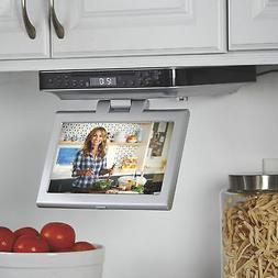 iLive 10in. Kitchen Under Cabinet Swivel TV DVD CD FM Blueto