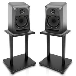 "13"" Surround Sound Speaker Stands Pro Audio Universal Heav"