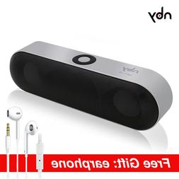 nby-18 Protable Bluetooth Speaker with FM Radio Wireless 3D