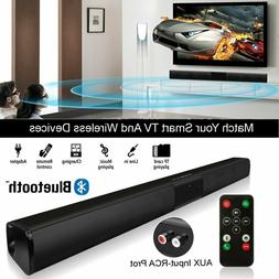 2.0 Channel Surround Sound Bluetooth Sound Bar 4 Speakers Bu