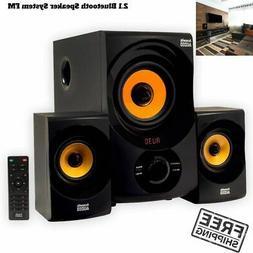 2.1 Channel Home Theater Surround Sound Bluetooth Usb Speake