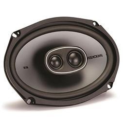 Kicker 2 New 41KSC6934 6x9 3-Way 300 Watt Car Audio Coaxial