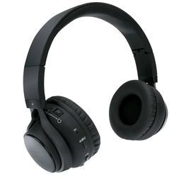 2-in-1 Wireless Bluetooth Headphone Headset with Speaker Bui