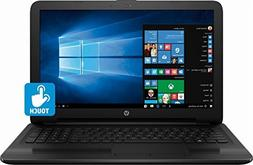 "2018 HP 15.6"" HD TruBrite Touchscreen Laptop PC, 7th Gen Int"