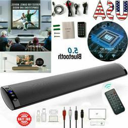 2020 Surround Sound Bar Speaker System Wireless BT Subwoofer