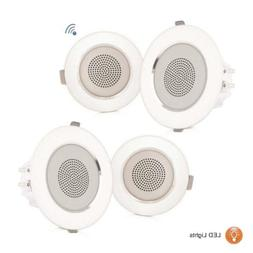 "3.5"" Ceiling Wall Mount Speakers - 2-Way Full Range Sound"