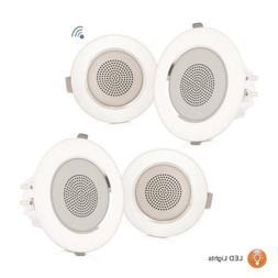 "3.5"" Ceiling Wall Mount Speakers - 2-Way Full Range Sound"