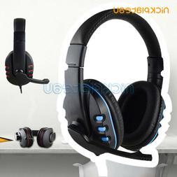 3.5mm Surround Stereo Pro Gaming Headset Headband Headphone
