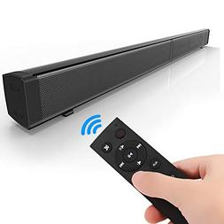 YTBLF 4.2 Bluetooth Sound bar, Wireless and Wired Home Theat