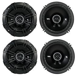 "4) Kicker 43DSC504 D-Series 5.25"" 400W 2-Way 4-Ohm Car Audio"