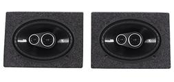 Kicker 43DSC69304 DSC6930 6x9 360w 3-Way Car Speakers+ Encl