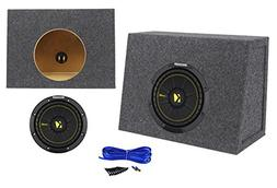 Kicker 44CWCS84 CompC 8 400W 4-Ohm SVC Car Audio Subwoofer+S