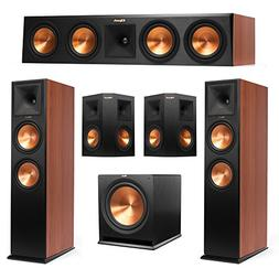 Klipsch 5.1 Cherry System with 2 RP-280F Tower Speakers, 1 R