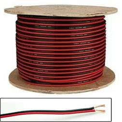50m Black/Red Speaker Cable for Surround Sound Hifi Speakers