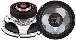 "6"" Car Audio Speaker Subwoofer - 300 Watt High Power Bass Su"