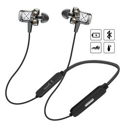 6 Speakers Bluetooth Headphones Wireless 6D Surround Sound H