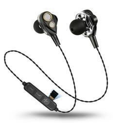 6D Surround Sound Bluetooth Earphones Four Speakers Sport He