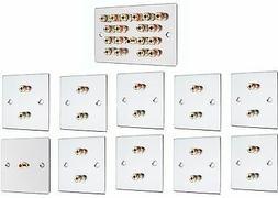 9 1 surround sound audio speaker wall