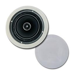"CT Sounds In-Ceiling Surround Sound 6.5"" 2-Way Home Audio We"
