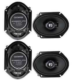 Kenwood 1 X 4 New kenwood kfc-c6895ps 6x8 720 watt 3-Way car