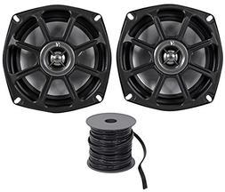 Kicker 10PS5250 5.25 Harley Davidson Motorcycle Speakers+Wat