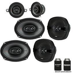 Kicker for Dodge Ram 2012+ speaker bundle - Two pairs of 201