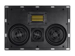 Monoprice Amber In-Wall Speaker Center Channel Dual 5.25-inc