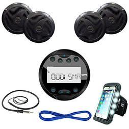 Pyle Audio PLMR91UB Marine Bluetooth Receiver USB/MP3, AUX I