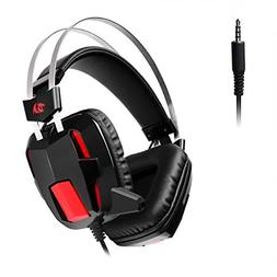 Redragon H201 Stereo Gaming Headset for PS4, Xbox One, PC an