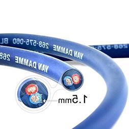 Van Damme Professional Blue Series Studio Grade 2 x 1.5 mm