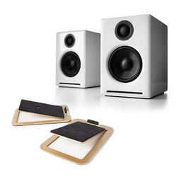 Audioengine A2+ Premium Powered Wireless Desktop Speakers wi