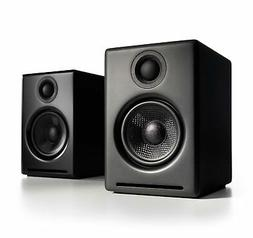 Audioengine A2+ Wireless 60W Powered Desktop Speakers, BT ap