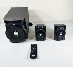 Acoustic Audio LED Bluetooth 2.1-Channel Home Theater Stereo
