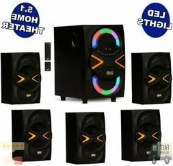 Acoustic Audio AA5210 Home Theater 5.1 Speaker System with B
