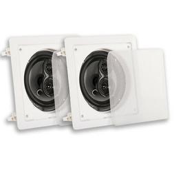Acoustic Audio CSi63S In Wall / Ceiling 6.5 Speaker Pair 3 W