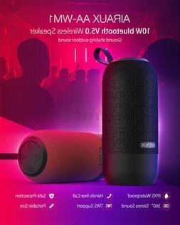 AIRAUX AA-WM1 10W bluetooth 5.0 Speaker 360° Surround Sound