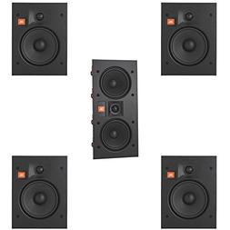 JBL Arena 5.0 Home Theater System with 4 JBL Arena 6IW In-Wa