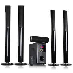 beFree Sound Amplifier 5.1 Channel Bluetooth Home Speaker Sy
