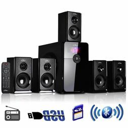 beFree 5.1 Channel Surround Sound Speaker System with Blueto