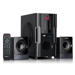 beFree Sound BFS-35 2.1 Channel Surround Sound Bluetooth Spe