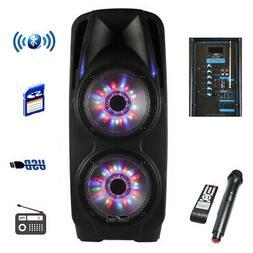 Befree Sound Bfs7900 2X10 Inch Woofer Portable Bluetooth Pow