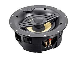 Black Back 6.5-inch 2-Way In-Ceiling Speakers with Covered C