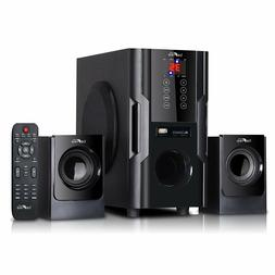 Bluetooth 2.1Ch Home Theater Surround Sound Speaker System F