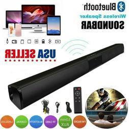 Bluetooth 5.0 TV Home Theater 3D Surround Sound Bar Speaker