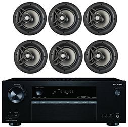Onkyo 5.2 Channel Full 4K Bluetooth AV Home Theater Receiver