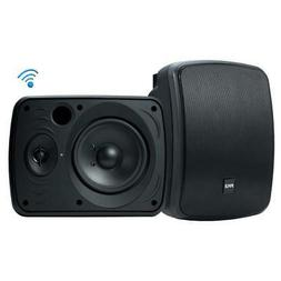 Pyle Bluetooth Dual 6.5'' Wall-Mount Marine Speakers Act