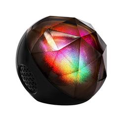 IKevan Bluetooth Speaker, Colorful Magic Ball Audio Remote C
