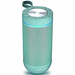 COMISO Bluetooth Speaker with 360 Surround Sound, 24 Hour Pl